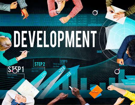 solution: Development Goal Growth Improvement Solution Concept Stock Photo