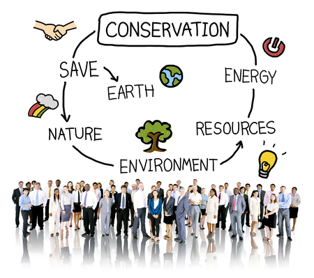 responsibility: Conservation Environment Earth Ecology Concept Stock Photo