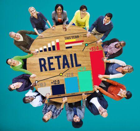 capitalism: Retail Compras Compras Concepto capitalismo Cliente