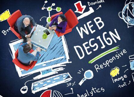 professional development: Web Design Web Development Responsive Branding Concept