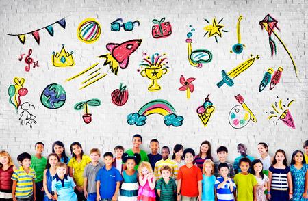 Kinderen Childhood Vrije tijd Onderwijs Concept