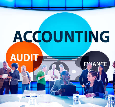financial audit: Accounting Audit Finance Economic Capital Concept