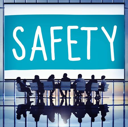 security safety: Safety Data Protection Network Security Safe Concept