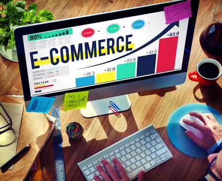 전자 상거래 인터넷 글로벌 마케팅 구매 개념