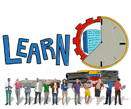 corporate vision: Learn Education Study Activity Knowledge Concept