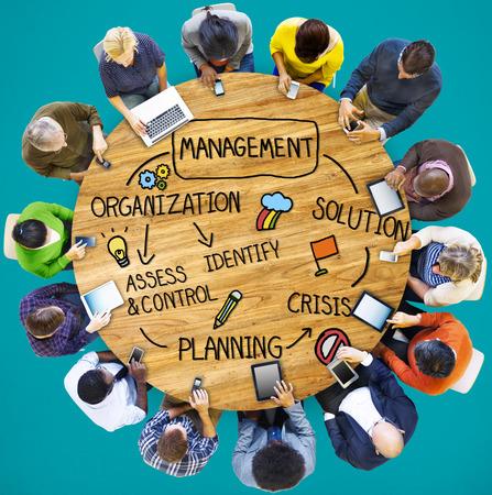 and authority: Administración de soluciones de Planificación Organización Autoridad Concepto