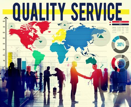 best quality: Quality Service Customer Assistance Support Concept Stock Photo