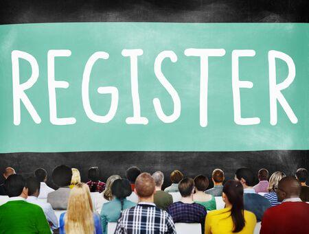 membership: Register Subscribe Enlist Membership Concept