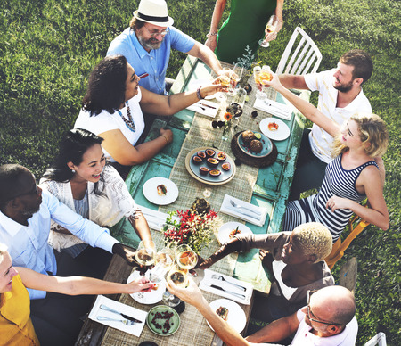 person outdoors: Friends Friendship Party Hanging out Concept