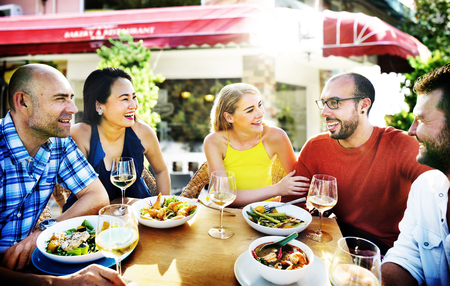 lifestyle dining: Friend Friendship Dining Celebration Hanging out Concept