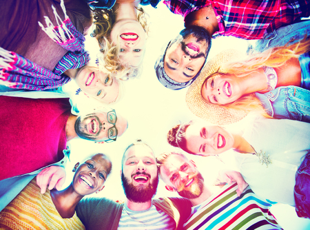 Laughing: Friends Friendship Leisure Vacation Togetherness Fun Concept