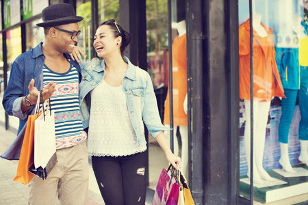 Shopping Bag toerist vakantie Ontspannen Buying Concept