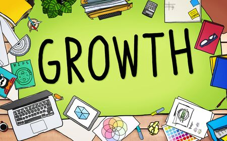 increase: Growth Improvement Grow Increase Process Concept