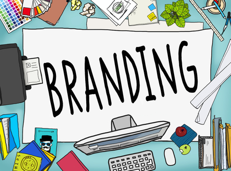 messy office: Branding Brand Marketing Business Strategy Identity Concept