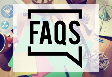 Frequently Asked Questions Faq Feedback Information Concept
