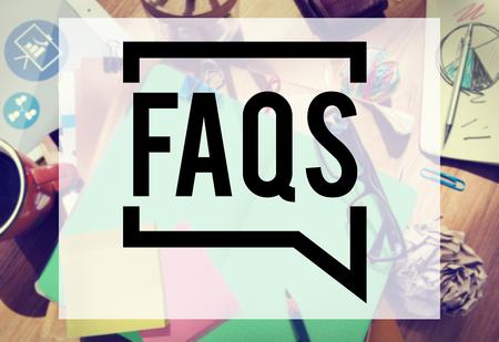 Veel gestelde vragen FAQ Terugkoppeling Informatie Concept