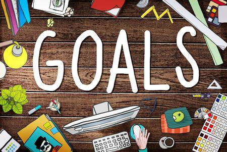 hopeful: Goals Aim Aspiration Anticipation Target Concept