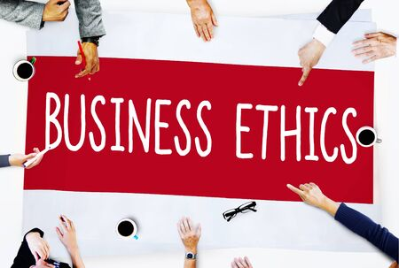 honesty: Business Ethics Honesty Ideology Responsibility Strategy Concept