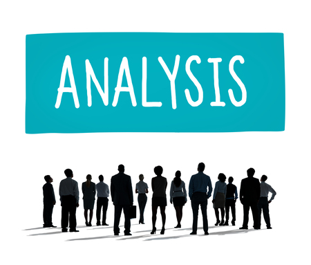 analyze: Analysis Analyze Data Information Planning Statistics Concept