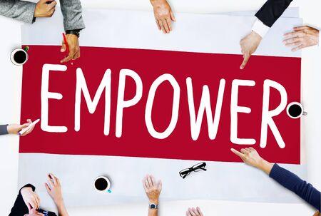 empowerment: Empower Authority Permission Empowerment Enhance Concept