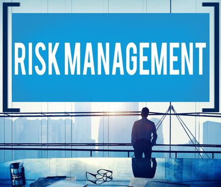 risk management: Risk Management Analysis Security Safety Concept Stock Photo