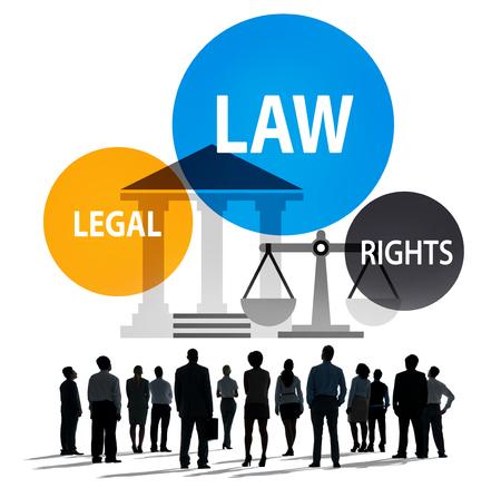 Law Legal Rights Judge Judgement Punishment Judicial Concept Stock Photo