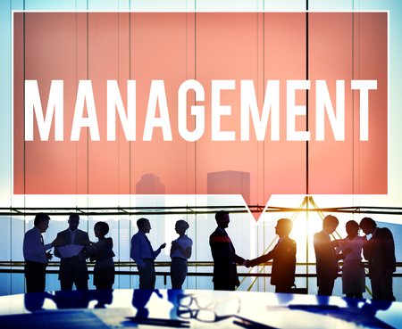 customize: Management Organization Director Managing Customize Concept