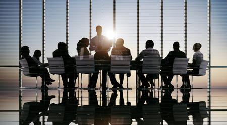 Gente de negocios Reunión de Discusión Comunicación Concepto Foto de archivo - 46312158