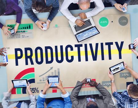 생산성 성능 효율성 용량 결과 개념 스톡 콘텐츠