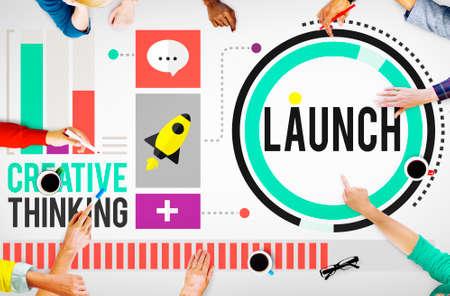 start: Einf�hrung neuer Business-Einweihung Start Start Konzept