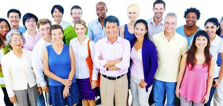 comunidad: Grupo grande de hombres de negocios