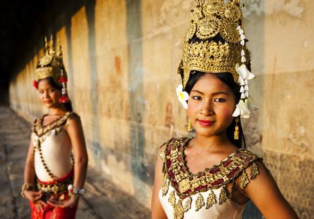 siem reap: Traditional Aspara Dancers Siem Reap Concept