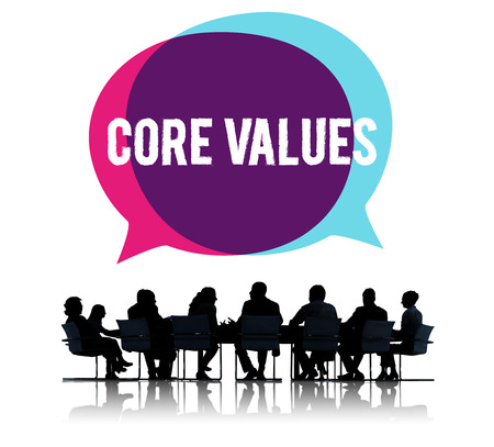 Core Values Core Focus Goals Ideology Main Purpose Concept 版權商用圖片