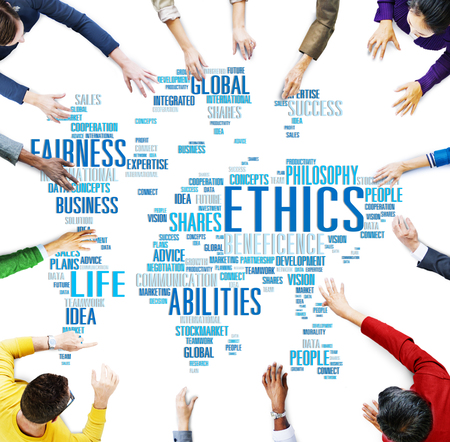 standards: Ethics Ideals Principles Morals Standards Concept