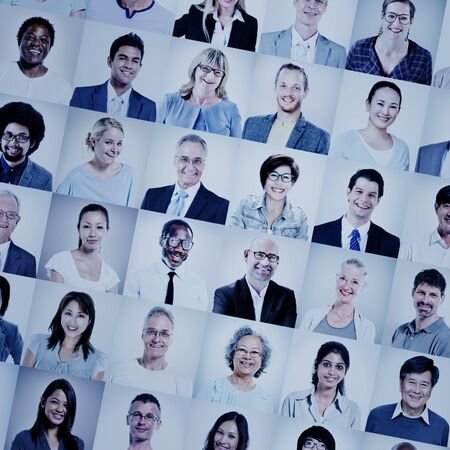 asian business people: Group of Multiethnic Diverse Business People Concept