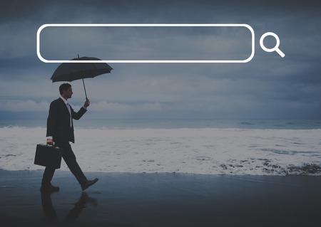 solitude: Search Box Web Online Technology Internet Website Concept