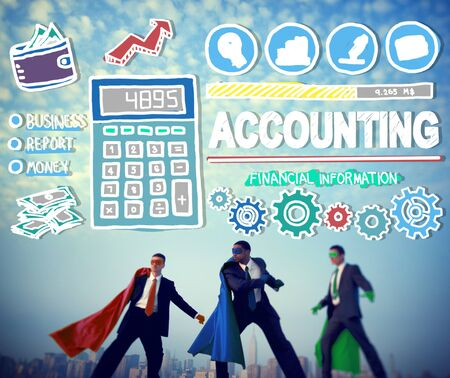 accounting: Accounting Finance Money Banking Business Concept