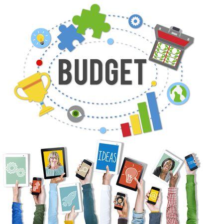 contabilidad: Presupuesto de Banca de Inversión de Contabilidad Contabilidad Concepto Foto de archivo