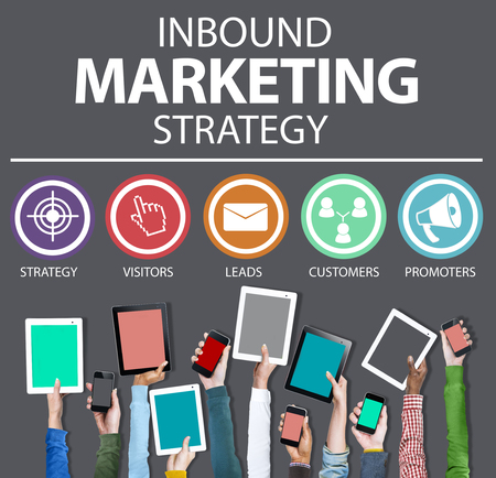solution: Inbound Marketing Strategy Commerce Solution Concept