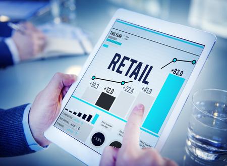 Einkaufen Einzelhandel Einkauf Kapitalismus Customer Concept Standard-Bild - 46355080