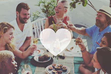 carino: Love Like Devoci�n pasi�n afecto rom�ntico Joy Life Concept