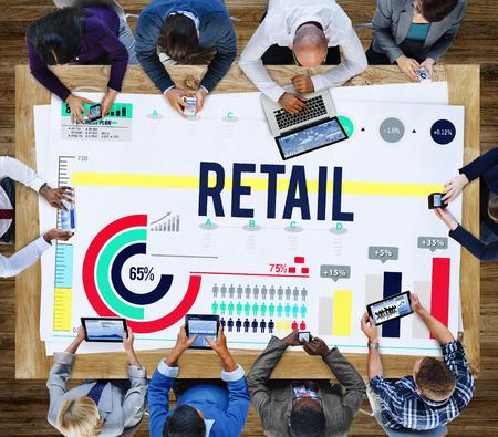 capitalismo: Retail Compra Venta capitalismo Consumidor Concepto