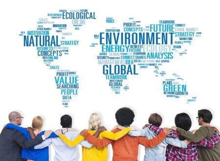 Environnement Ecologie conservation productivité Concept