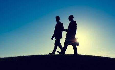 Businessmen Consultant Discussion Talking Partnership Concept