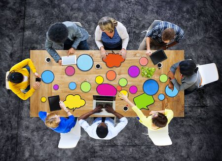 business ideas: Multiethnic Group of People in Meeting Concept