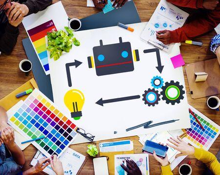 creativity: Innovate Inspiration Creativity Ideas Progress Concept