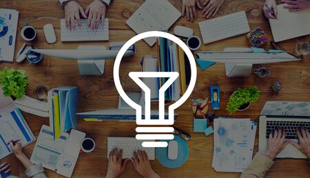 power concept: Light Bulb Ideas Inspiration VIsion Innovation Power Concept