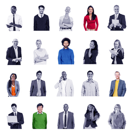 diversity people: Diverse People Global Communications Technology Concept Stock Photo