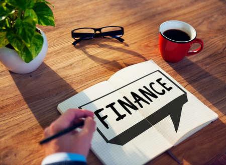 interest: Finance Economics Accounting Interest Concept Stock Photo