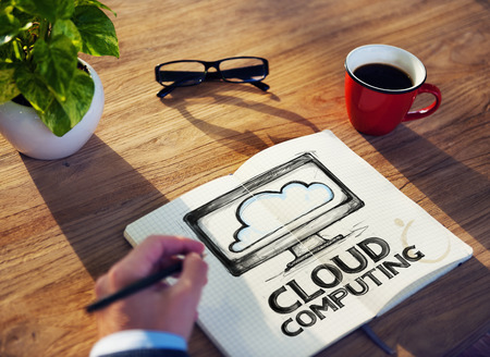 cloud search: Technology Cloud Computing Network Storage Information Concept